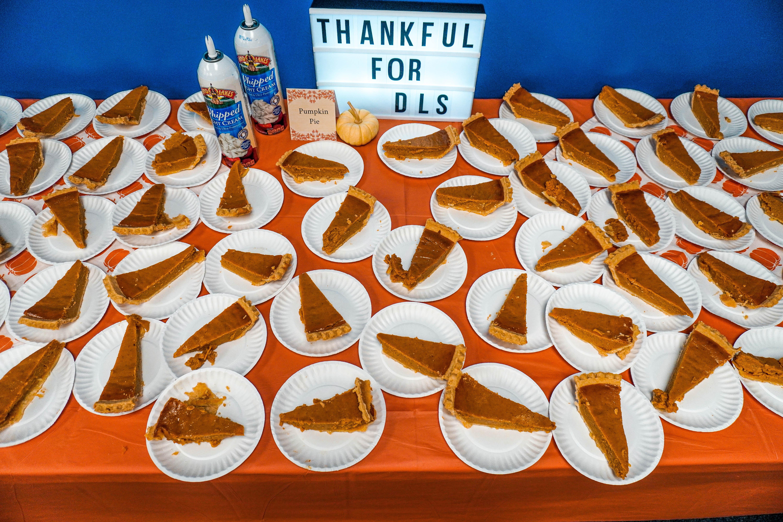 Diplomatic Language Services serves pumpkin pie