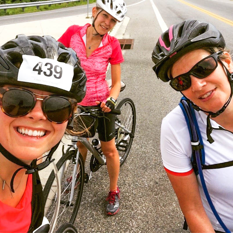Diplomatic Language Services staff members bike to benefit the National Multiple Sclerosis Society