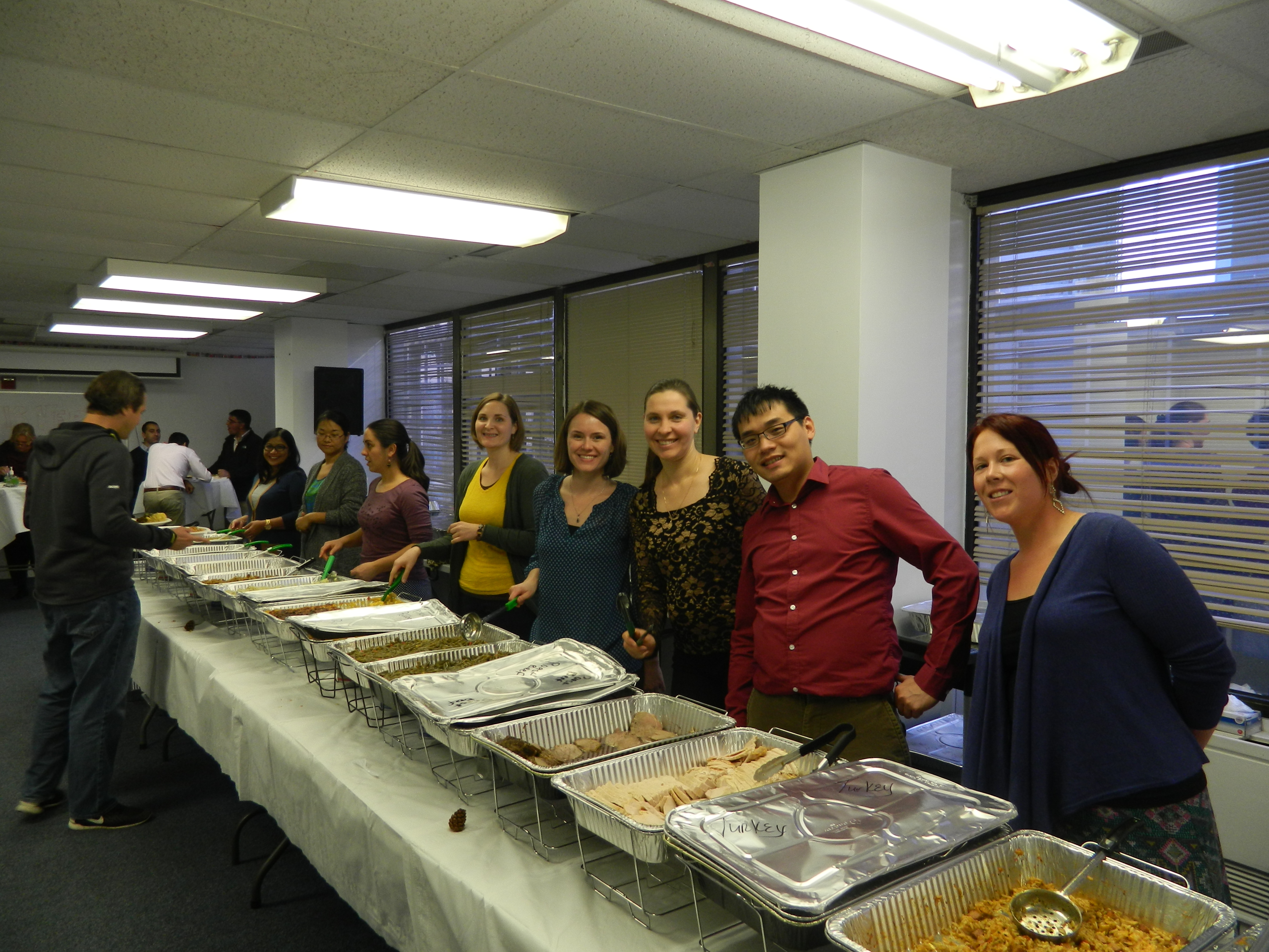 Diplomatic Language Services Thanksgiving Event 2015