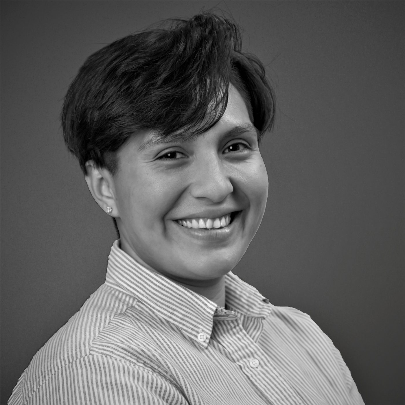 Headshot of Diplomatic Language Services staff member Angelica Martir