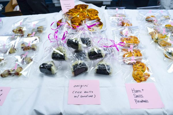 Susan G. Komen Bake Sale at dls