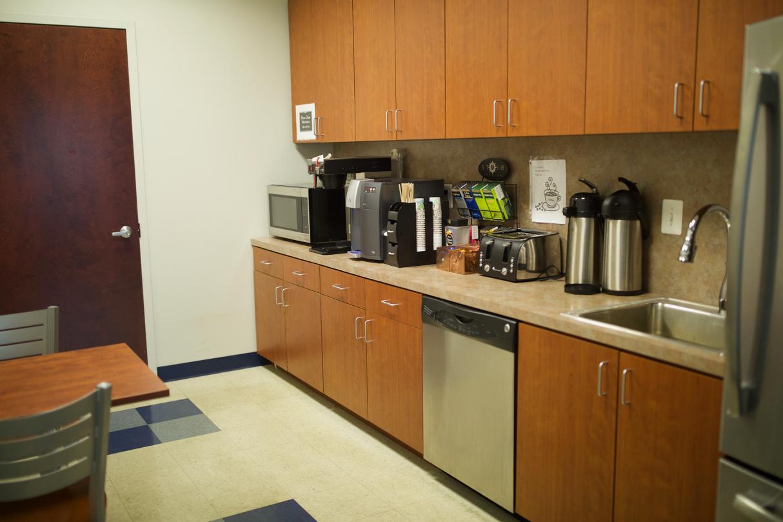 Diplomatic Language Services Elkridge location kitchen