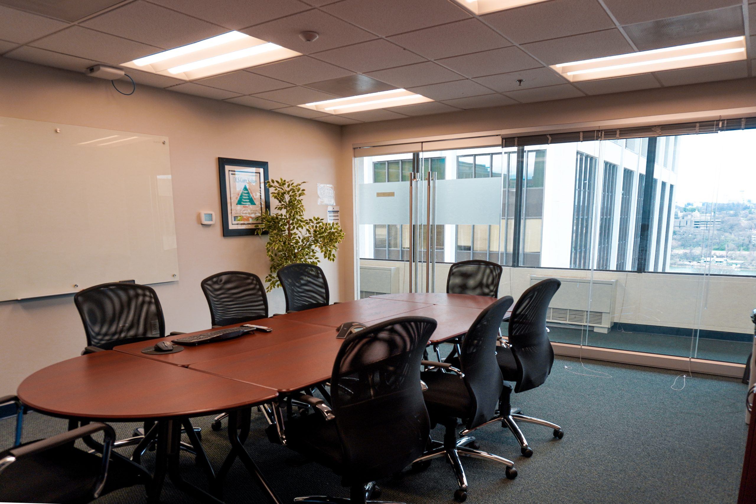 Diplomatic Language Services Rosslyn location twelfth-floor conference room