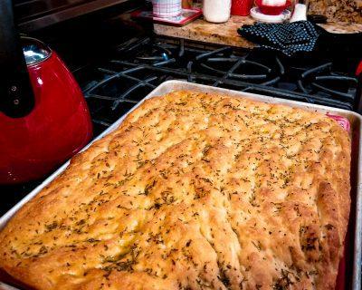 Diplomatic Language Services blog post sharing an Italian focaccia recipe